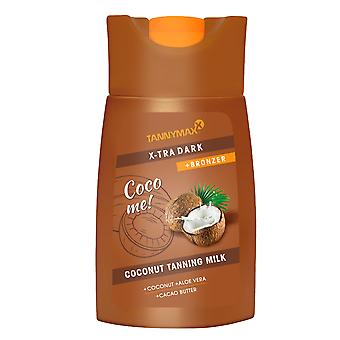 Tannymaxx Coco Me X-Tra Brown Coconut Tanning Milk Tan Accelerator Lotion 200ml