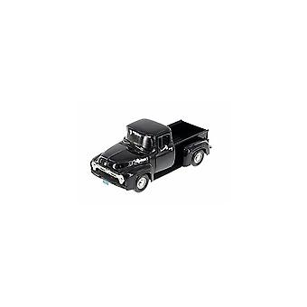 MotorMax American Classics - 1955 Ford F-100 Pickup Black   1:24