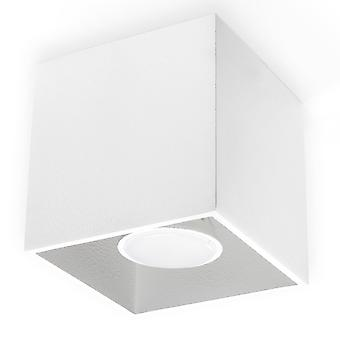Sollux QUAD 1 Light Surface Mounted Downlight White SL.0027