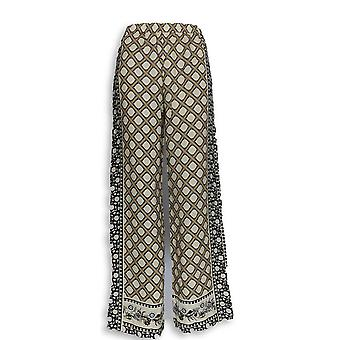C. Wonder Women's Pants Engineered Print Woven Beige A287460