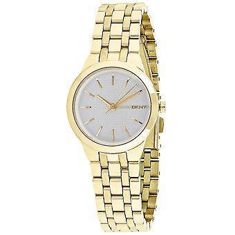 DKNY Mujeres's Park slope Silver Dial Watch - NY2491