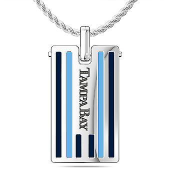 MLB Pendant Necklace In Sterling Silver Design by BIXLER