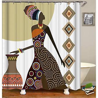 Tenda da doccia per la signora African ATribe