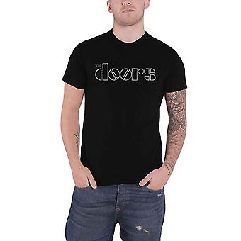 The Doors T Shirt Classic Band Logo new Official Mens Black