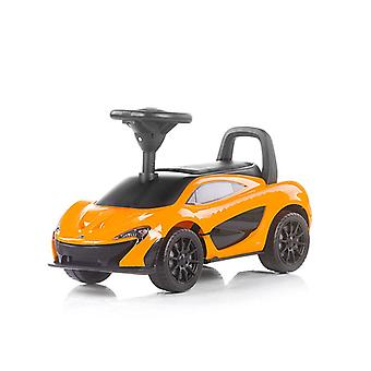 Chipolino slider McLaren P1 steering wheel with horn and music function, leather seat