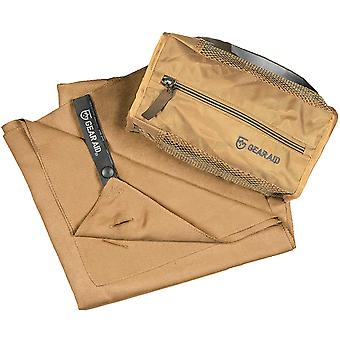 McNett Tactical Microfiber Ultra Compact Towel - Coyote