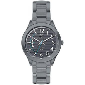 Watch Trendy Classic Magister CM1038-20 d - Gray man round