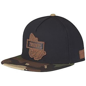 Cayler & sons Snapback Cap - TRUST LUX black / camo wood