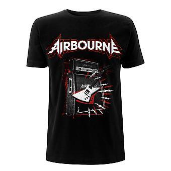 Airbourne Marshall Stack E-Gitarre Offizielles T-Shirt