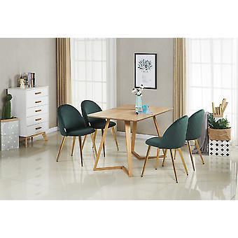 Arizonan ruokapöytäsetti - 4 Deluxe Liscio -tuolia