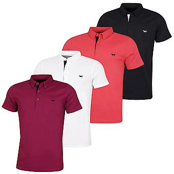 Wolsey Mens Fox Borst Temperatuur reguleren Golf Polo Shirt