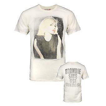 Junk Food Blondie diz men's t-shirt