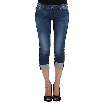 Cavalli Cavalli Blue Wash Cotton Stretch Slim Fit Jeans