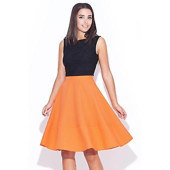 Orange katrus skirts
