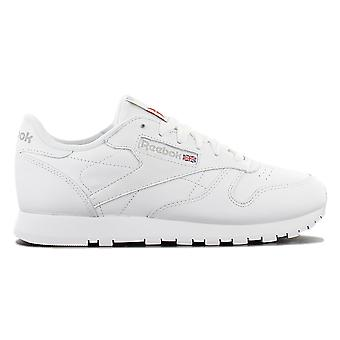 Reebok Classic Leather GS 50151 - Women's Leather Shoes White Sneakers Sports Shoes