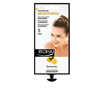 Iroha Peel-off Masca Brightening Lemon 5 utilizări pentru femei