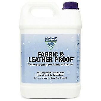 Nikwax Fabric & Leather Proof 5 litre