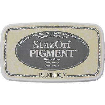 StazOn Pigment Blekk Pad - Koala Grå