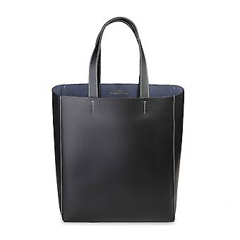 Made in Italia Original Women All Year Shopping Bag - Black Color 28649