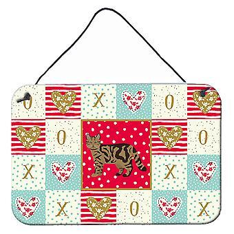 Scottish Straight #2 Cat Love Vägg eller dörr hängande utskrifter