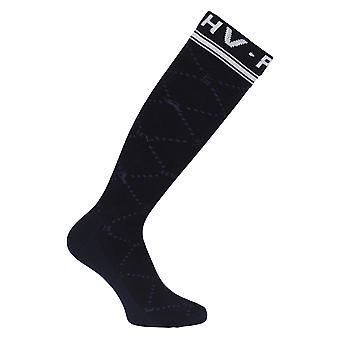 HV POLO Hv Polo Welmoed Knee High Womens Socks - Navy Blue