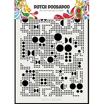 Néerlandais Doobadoo Néerlandais Masque Art Divers Points A5 470.715.133
