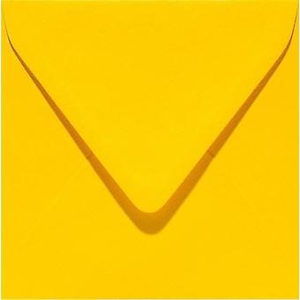 Papicolor Envelope Square 14cm buttercup-yellow 105gr 6pc 303910- 140x140 mm