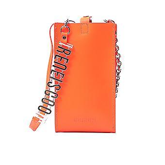Ireneisgood Igaba001820 Sac à bandoulière en cuir orange