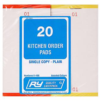 Robinson Young Kitchen Order Pads