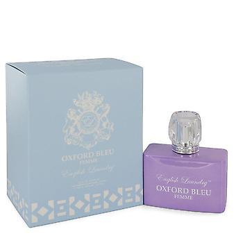 Oxford Bleu Eau De Parfum Spray By English Laundry 3.4 oz Eau De Parfum Spray