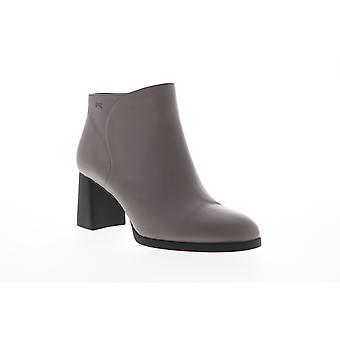 Camper Kara Womens grå läder zipper pumpar klackar skor