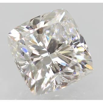 Zertifiziert 1.03 Karat D VVS1 Kissen Enhanced Natural Loose Diamond 6.03x5.77mm