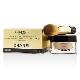 Sublimage le teint ultimate radiance generating cream foundation   # 32 beige rose 30g/1oz