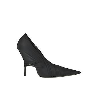Balenciaga Ezgl006047 Women's Black Fabric Pumps