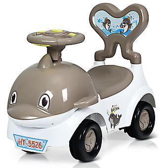 3 IN 1 Children Ride-on Push Along Car Walker Slider Ride on Push Vehicle Toy UK