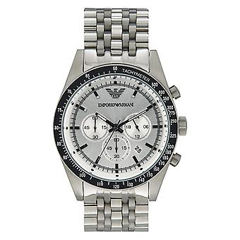 Armani Watches Ar6073 Men's Sportivo Silver Stainless Steel Watch