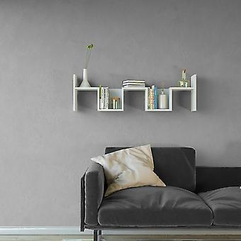 Mensola Rio Color Bianco in Truciolare Melaminico 115x22x34 cm