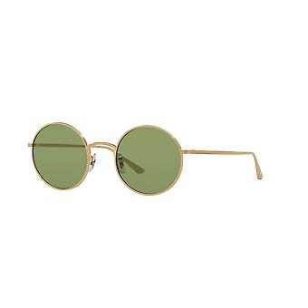 Oliver Peoples After Midnight OV1197ST 5252/52 Brushed Gold/Green Sunglasses