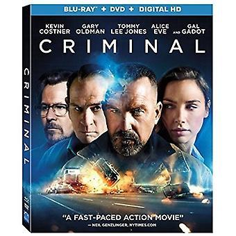 Criminal [Blu-ray] USA import