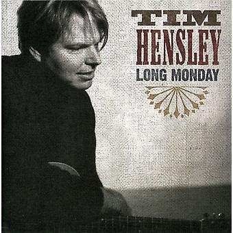 Tim Hensley - Long Monday [CD] USA import
