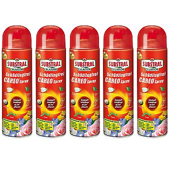 Sparset: 5 x SUBSTRAL® Celaflor® Pest-free Careo® Spray, 400 ml