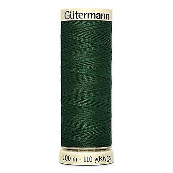 Gutermann Ommella-all 100 % Polyesteri Thread 100m Käsi ja kone värikoodi - 456