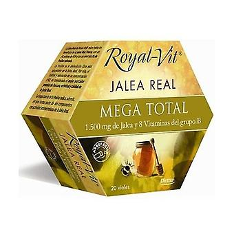 Royal Vit Mega Total Royal Jelly 20 ampoules of 1500mg