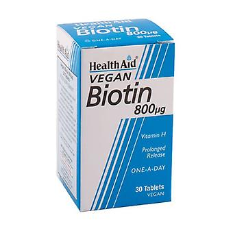 Biotin 30 tablets of 800μg