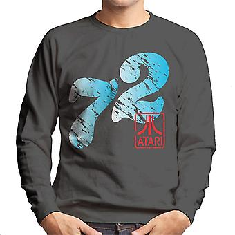 Atari Distressed 72 Men's Sweatshirt