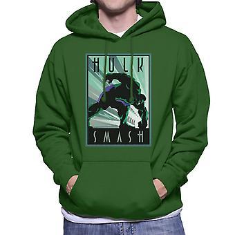 Marvel Hulk Smash vloer mannen ' s Hooded Sweatshirt