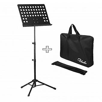 Adjustable Tripod Music Stand Holder With Carry Case Bag