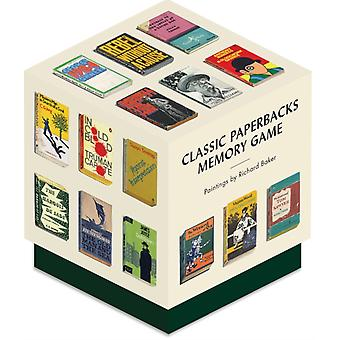 Classic Paperbacks Memory Game by Baker & Richard