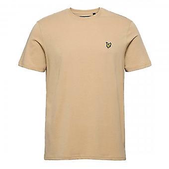 Lyle & Scott Plain Crew Neck T-Shirt Sand Storm TS400V
