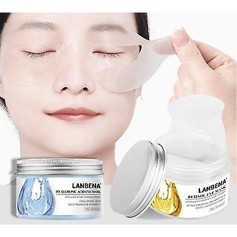 Hyaluronic Acid Eye Masks Moisturizing Retinol Eye Patches Gel Anti Aging/Puffiness Dark Circle